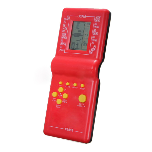 New Queen! Tetris Game Hand Held LCD Electronic Game Toys Games Gift(China (Mainland))