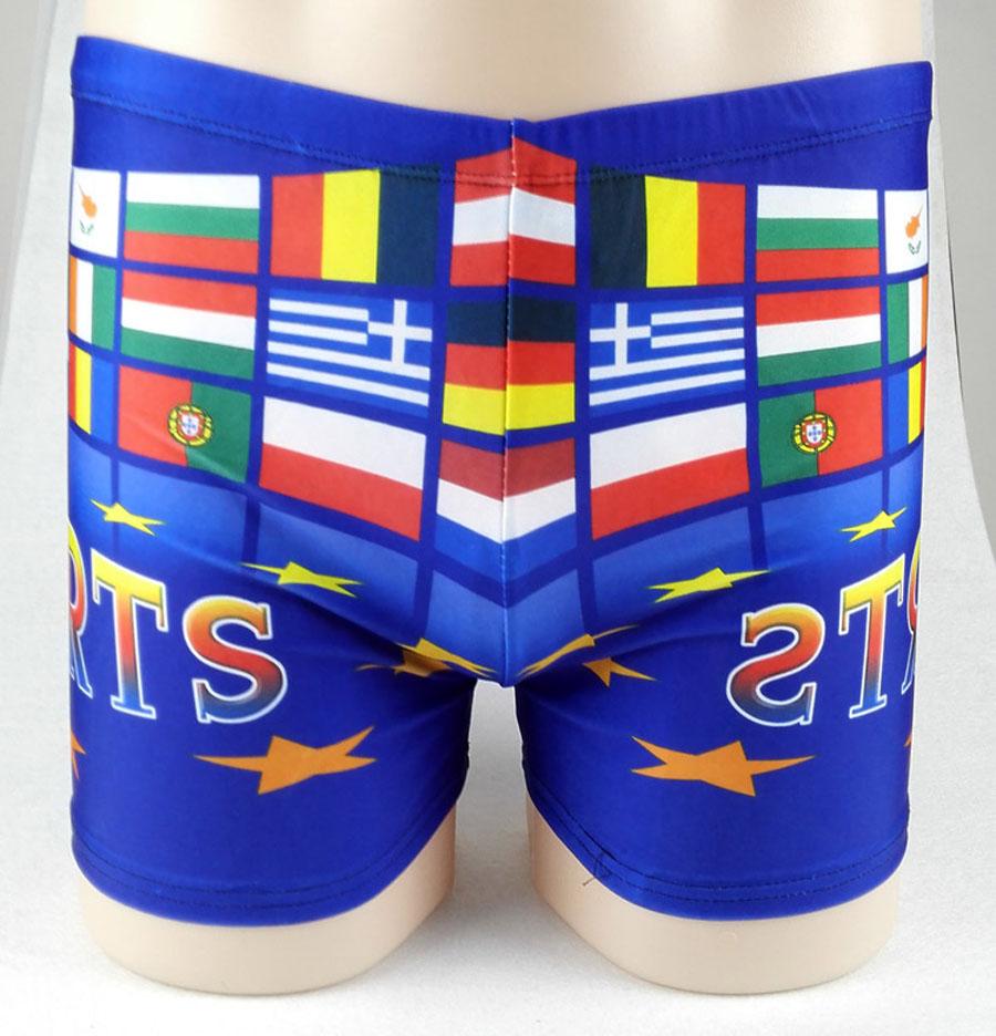New Fashion Printed Spa Swimming Boxer Shorts Large Size Trunks(China (Mainland))