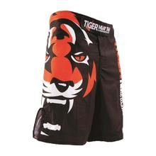 Mens MMA Boxing Shorts with Tiger Wrestling Fight Trunks Cheap Kickboxing Shorts Tiger Muay Thai Fight Wear Martial Arts M-3XL(China (Mainland))