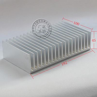 182*100*45mm High quality pure Aluminium alloy heat sink radiator heatsink Fin scales dentate heat pipe thermal<br><br>Aliexpress