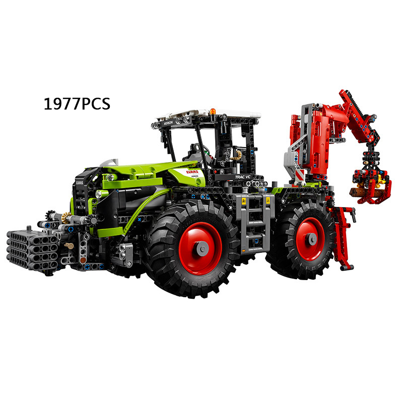 Hot Technics Remote control Engineering vehicle Claas xerion 5000 trac vc building block compatible legoeinglys.42054 rc toys(China (Mainland))