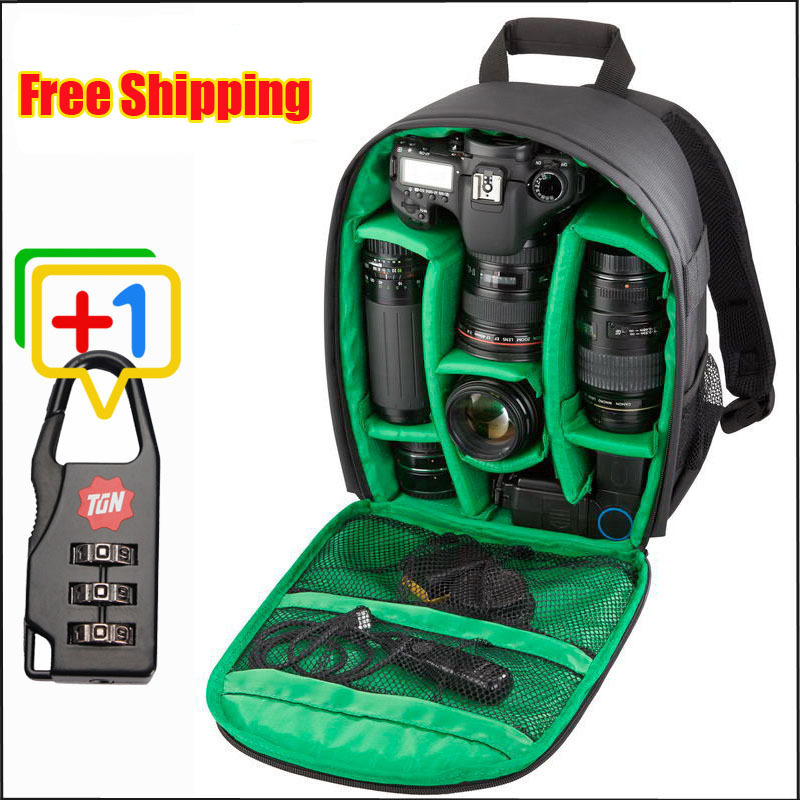 2015 New Photography Lowepro Digital DSLR Camera Bag Backpack Gopro Waterproof Photo Camara Bags Case Mochila Hot! Free Shipping(China (Mainland))