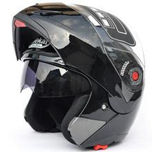 Free shipping!Safe Flip Up Motorcycle motorcross motorbike Helmet With Inner Sun Visor  JIEKAI-105 DOT ECE(China (Mainland))