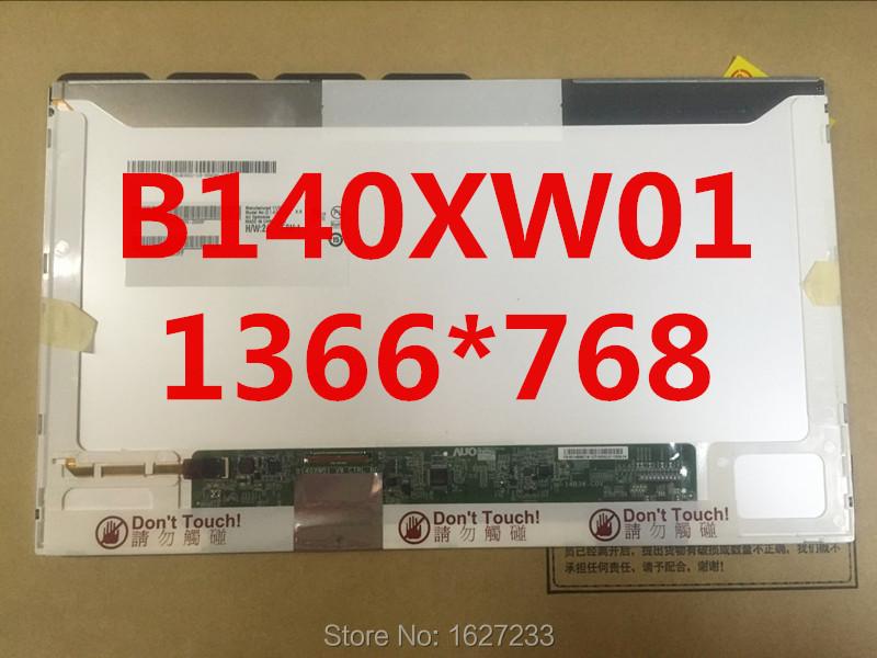 Stock Brand new 14.0-inch LED Screen B140XW01 V8 V9 N140BGE-L23 LP140WH4 HB140WX1-200(China (Mainland))