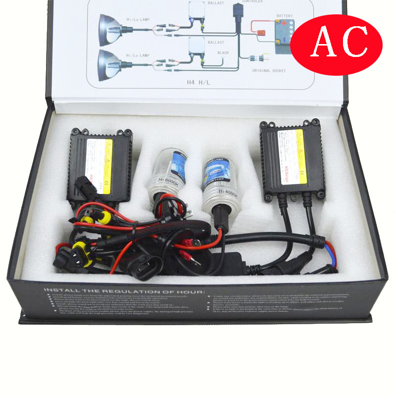 auto headlamp hid xenon kit slim ballast for car headlight 12V 35W AC h1 h3 D2S 9012 5012 H27 hb3 hb4 hid conversion kit(China (Mainland))