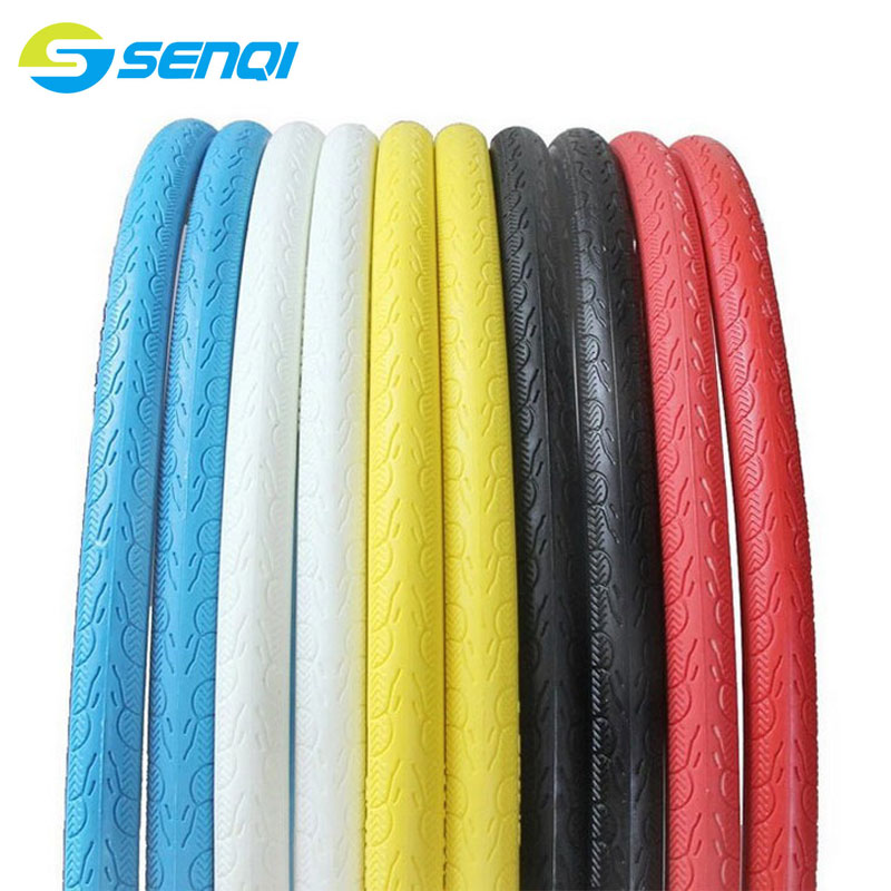 5 Colours Solid Tires 700 * 23C Explosion Free Inflatable Tubeless Bike Tire Road Bicycle Fixed Gear Bike Tires SXLT001(China (Mainland))