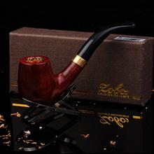 Hot Hot ZOBO authentic wood Smoking Pipes Only to supply high end men s Ebony tobacco