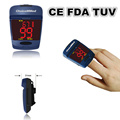ChoiceMMed Mineral Blue Big Screen Pulse Oximeter Finger Tip Blood Oxygen SpO2 Monitor CE FDA TUV