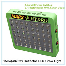 Reflector 150W Led Grow Light Full Spectrum Flowers And Vegetables LED Lights Growing Plants For Indoor Grow Offer Drop Shipping(China (Mainland))