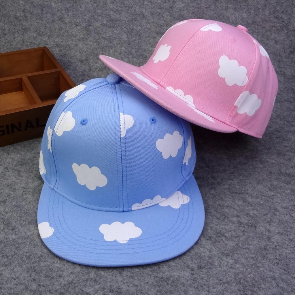 Exclusive Sale!!!Lovely picking baseball cap pink&amp;blue cloud patterns hip-hop Snapback hat adjustable Bone aba reta ChapeauОдежда и ак�е��уары<br><br><br>Aliexpress