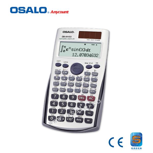 991ES Plus Scientific Calculator Dual Power With 417 Functions Batter Than casio FX-991es Calculadora Cientifica As Teacher Gift(China (Mainland))