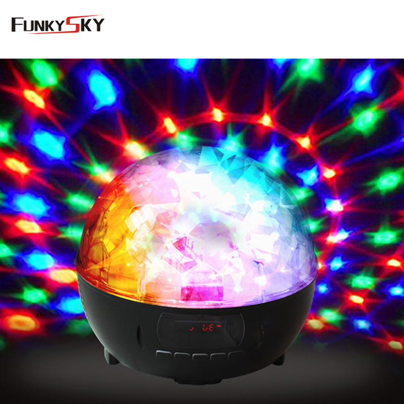 Fashion Portable Magic Party Bluetooth Speaker Ball Disco Light Speaker With Colorful LED Light ABS Mini Great Sound Speaker(China (Mainland))