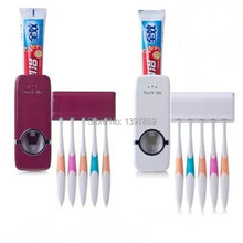 New year, Christmas gifts fully automatic toothpaste arms my toothbrush holder, bathroom set M-002(China (Mainland))