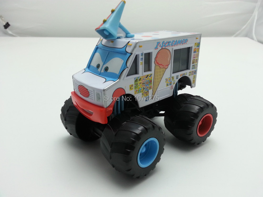 Pixar Cars I-Screamer Ice Cream Truck Metal Diecast Toy Car 1:55 Loose Brand New In Stock & Free Shipping(China (Mainland))