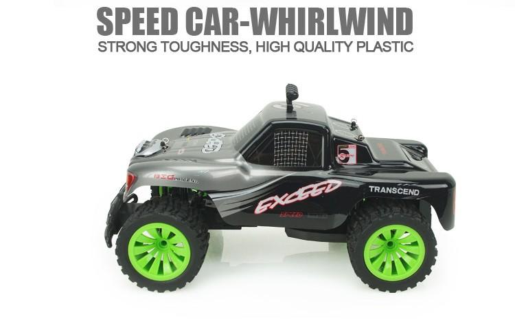 RC Car BG1504 High Speed Car 4CH 4.8V 2.4G RC Big Model Whirlwind Cross-Country Motorcycle Model Car