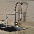 2016 Promotion Kitchen Faucet Deck Mount Hot and Cold Pipe Include Single Handle with 8 Hole