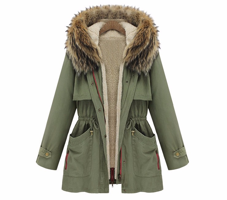 Green Winter Jacket - JacketIn