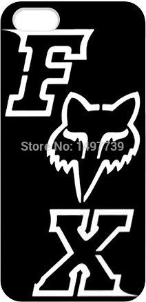 Sports Fox Racing black hard Plastic cell Phone Case Cover for iphone 4 4s 5 5s 6 6 plus(China (Mainland))