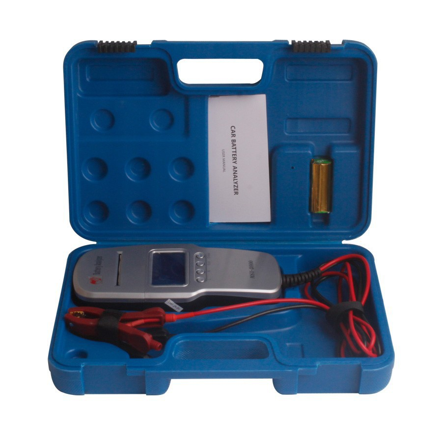 Newest Digital Battery Analyzer with Built-in Printer MST-8000 Car Digital Battery Tester 12V or 24 V auto battery tester(China (Mainland))