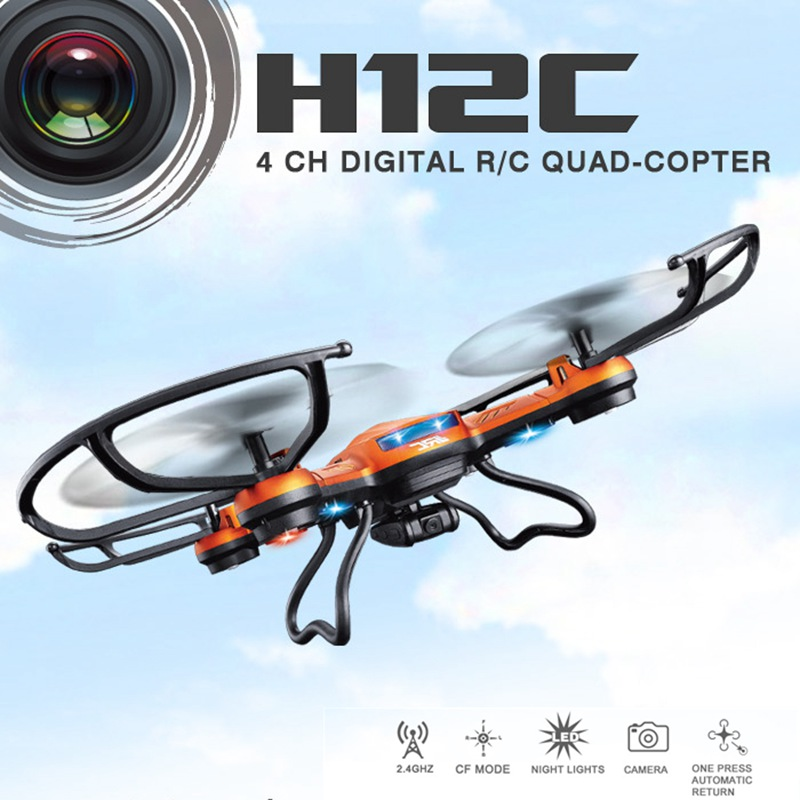 Rc Drones With Camera Hd Jjrc H12c Rc Quadcopters With Camera Flying Camera Helicopters Remote Control Dron Professional Drones(China (Mainland))
