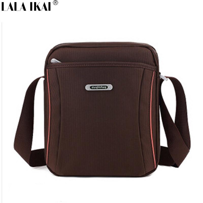LALA IKAI Fashion Casual Style Messenger Bag Man Professional Sewing Men's Shoulder Bag Boy Male Crossbody Bag Vintage BMB0006(China (Mainland))
