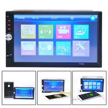 2016 NEW 7'' inch LCD Touch Screen Car Radio MP3 Video Player MP3/WMA/WAV/APE/OGG/AAC/FLAC Car Electronics  E#A(China (Mainland))