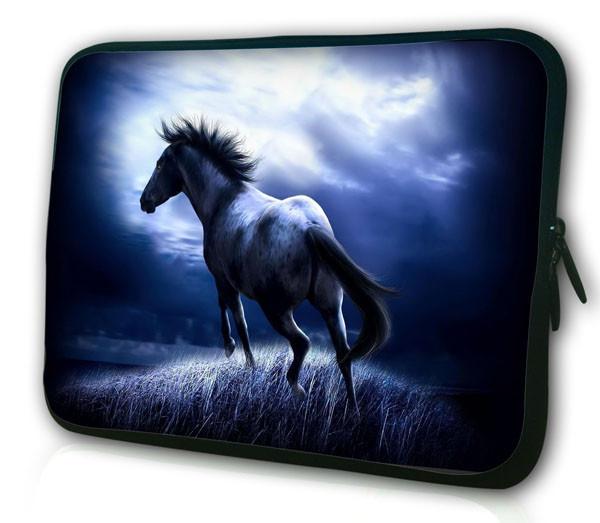 "Top Sale Running Horse Sleeve Bag For 12.6"" 13"" 13.3"" Laptop Notebook Computer Tablet PC Men Handbag(China (Mainland))"