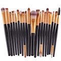 Overmal Professional 20 pcs Makeup Brush Set tools Make up Toiletry Kit Wool Brand Make Up