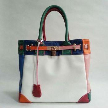 Free Shipping~2015 New Fashion PU Leather Women bag\ handbags, ladies' Shoulder Bag\Messenger Bag~ Hit colors ~ 06