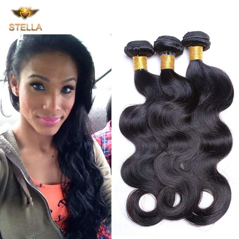 Rosa Hair Brazilian Virgin Hair Body Wave 3 Bundles Wavy Brazilian Virgin Hair Weave Brazilian Body Wave Cheap Human Hair