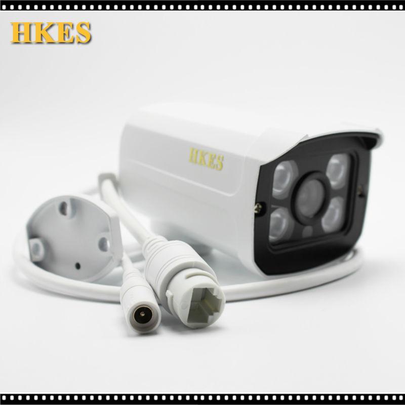 Envio Gratis HD de 1920*1080P camara IP Bullet IR vision nocturna IR LED impermeable 4array CCTV IP Cam(China (Mainland))