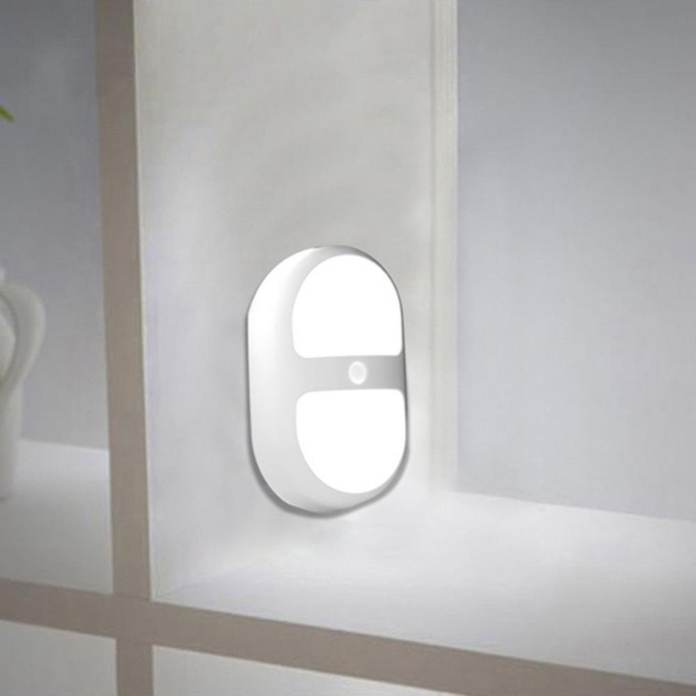 Hot 1pc  10 LED Night Light Motion Sensing Battery Power Human Sensor Lamp  Top Quality New<br><br>Aliexpress