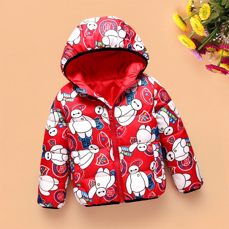 Children Jackets Boys Girl Korean fashion down coat, 2-7 Years Baby Winter Warm Coat Kids fashion thick warm winter hooded Coat(China (Mainland))