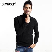 SIMWOOD Brand new autumn winter Turtleneck sweater men  casual pullovers  fashion knitwear  MY2033(China (Mainland))