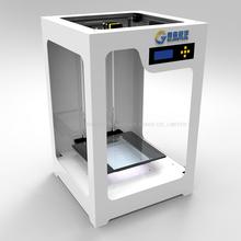Free shipping DHL 3D printer HBear500 3D printing machine three-dimensional USB port LAN port Pla ABS material LED screen