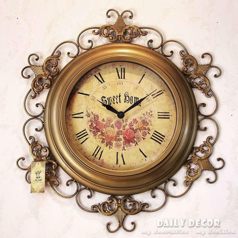 Acquista all 39 ingrosso online vecchio orologio da parete da - Relojes grandes de pared vintage ...