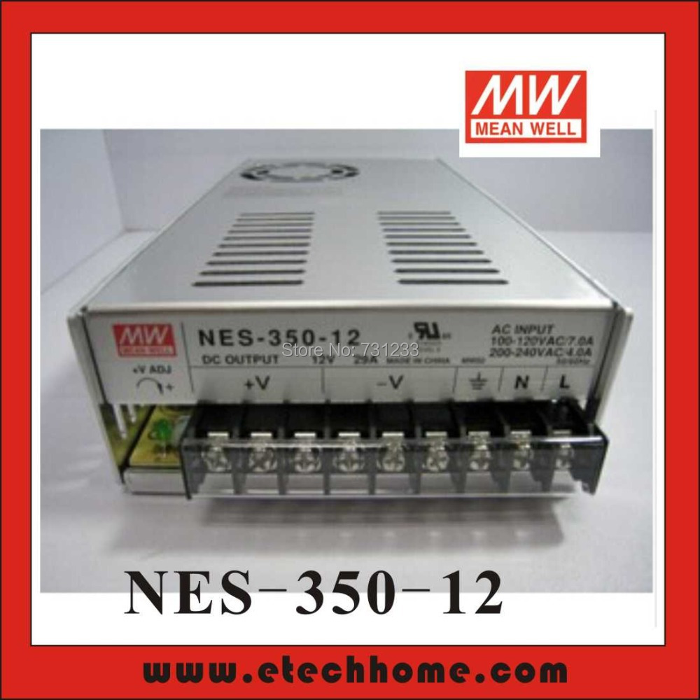 Mean Well Switching Power Supply 350W 12V 29A Single Output NES-350-12 for Embroidery Engraver Printer Plasma CNC Router Kits<br><br>Aliexpress