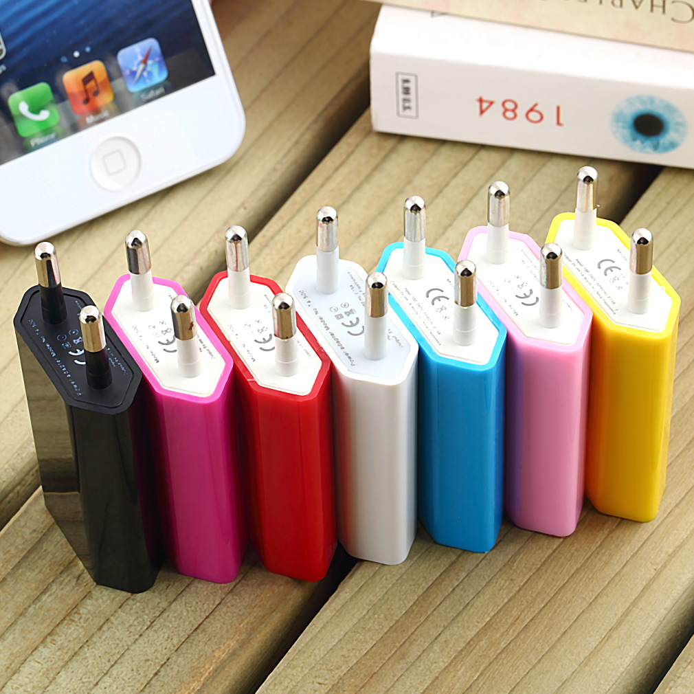 Universal EU Plug Micro USB Power Charger Adapter for iPod for iPhone 3G 3GS 4 4S Home Wall Professional(China (Mainland))