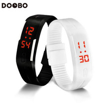 10pcs/lot Led Sport Watch toy Men Women Sport Wristwatch militaly clock electronic Kid Bracelet toys Lovers hand band toy(China (Mainland))