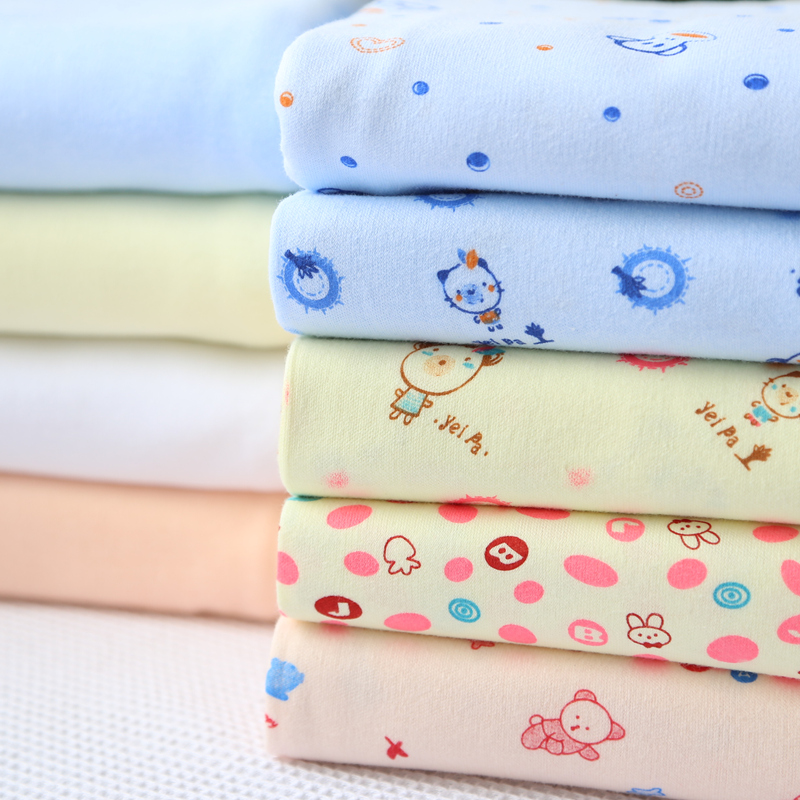 Baby Diaper Cloth Cotton Diaper Baby Clothes Cotton Knitted Fabric(China (Mainland))