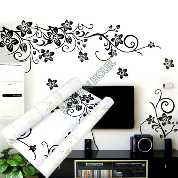 Top SellingRemovable Home DIY Decoration Flowers Wall