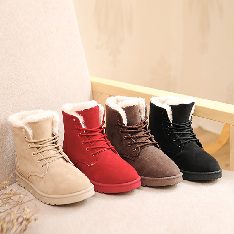 New Flat Ankle Boots For Women Cute Flat Ankle Boots For