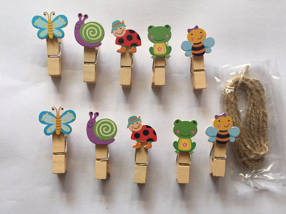 Popular clothespin animals buy cheap clothespin animals for Decoration clips