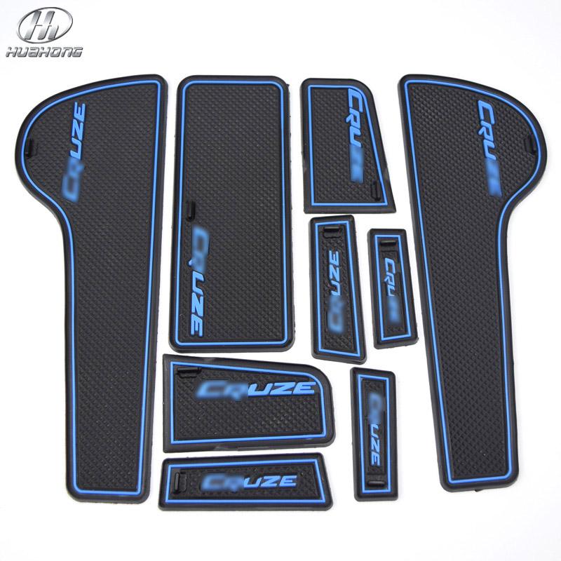 Chevrolet CRUZE anti slip mat sticker gate slot pad door carpets Interior decoration accessor sedan hatchback 2009-2014 - HuaHong automobile products Co., LTD store