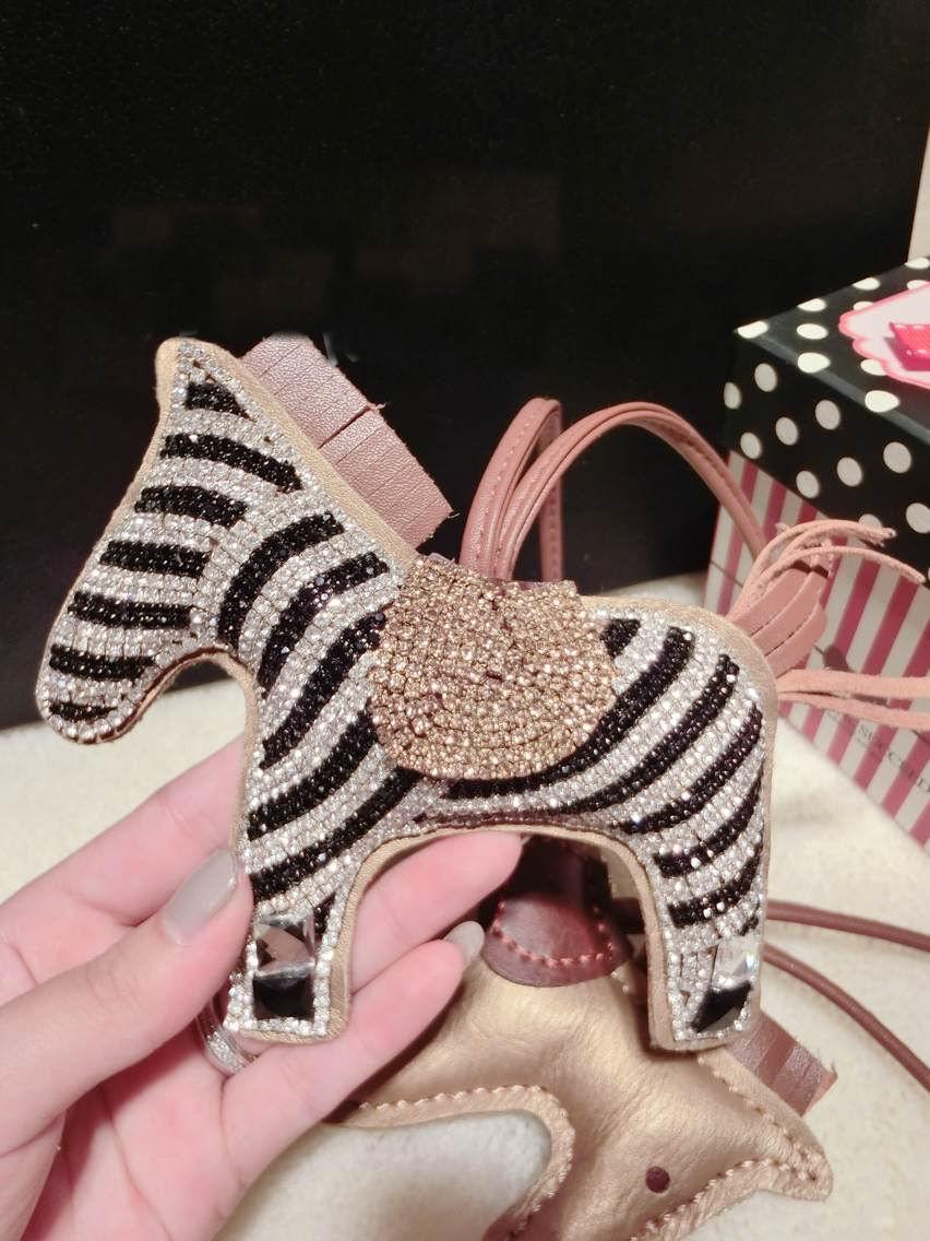 """Блеск верховая сумка подвески большой bling лошадь кожа лошадь милые женщины сумка подвески сумки подвески """"зебра"""" горный хрусталь bling подвески"""