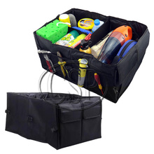 Car Trunk Organizer Vehicle Folding Oxford Cloth Storage Bag Box Stowing Tidying Bag Boot Car-styling For TOYOTA VOLVO AUDI(China (Mainland))