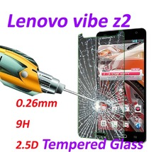 0.26mm 9H Tempered Glass screen protector phone cases 2.5D protective film For Lenovo VIBE Z2 -5.5 inch