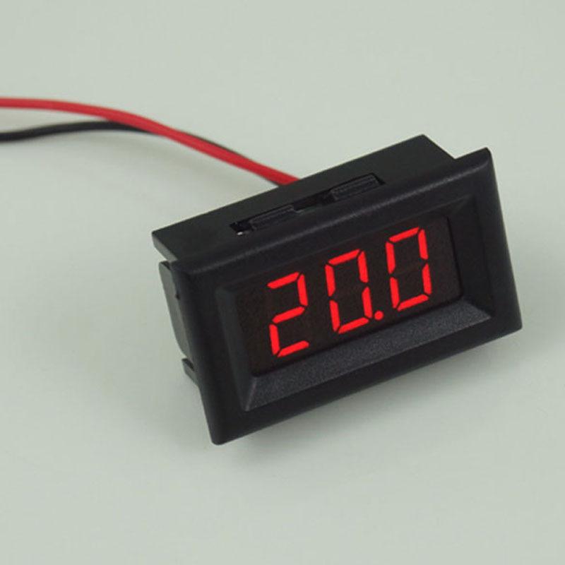 Гаджет  Mini Two Wires Digital Voltmeter Red LED Display DC2.5-30V Voltage Meter CA1T None Инструменты