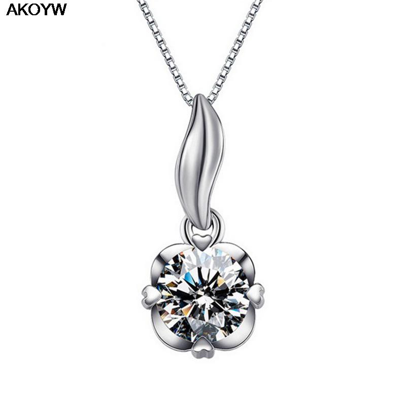 Silver plated pendant inlaid handmade crystal jewelry lady lovely high quality fashion jewelry manufacturers, wholesale(China (Mainland))