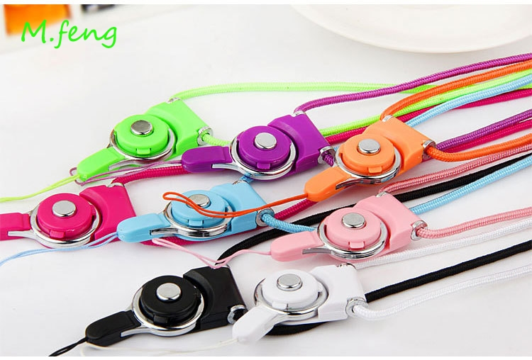 2016 New Fashion Cute Cartoon Silicone Universal Mobile Phone Lanyard Cords String Phone Neck Strap For Apple iphone6 Smartphone(China (Mainland))